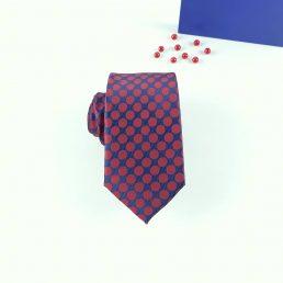 rojo marr/ón azul marino verde morado rojo Corbata de lunares rosa y blanco azul 100/% seda